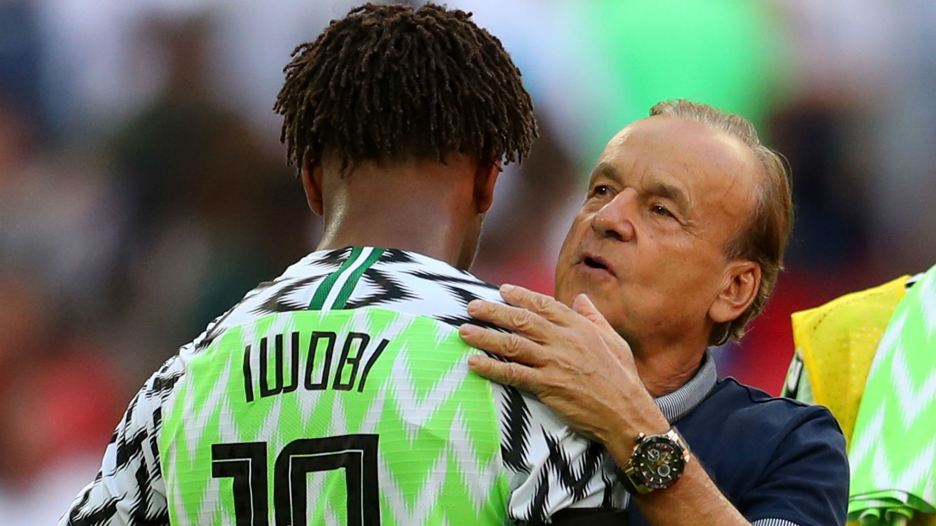 Image result for rohr iwobi afcon 2019